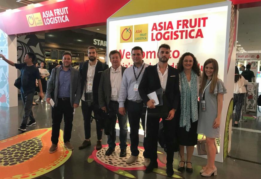 FEDACOVA APOYA A SUS EMPRESAS EN LA FERIA ASIA FRUIT LOGISTICA DE HONG KONG