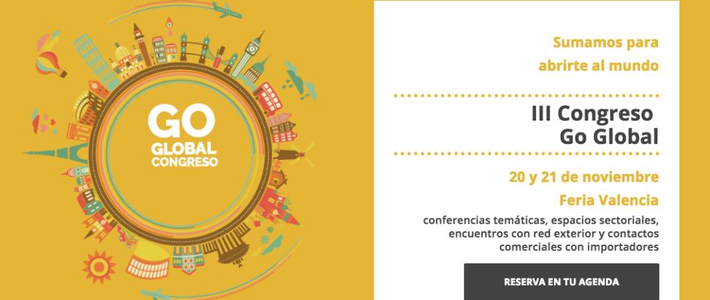 FEDACOVA, COLABORADORA EN EL III CONGRESO GO GLOBAL 2018